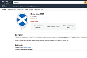 Know Your MSP Alexa Skill